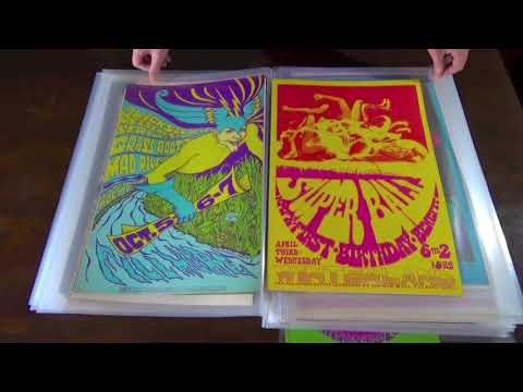 FILLMORE & AVALON PSYCHEDELIC POSTER COLLECTION