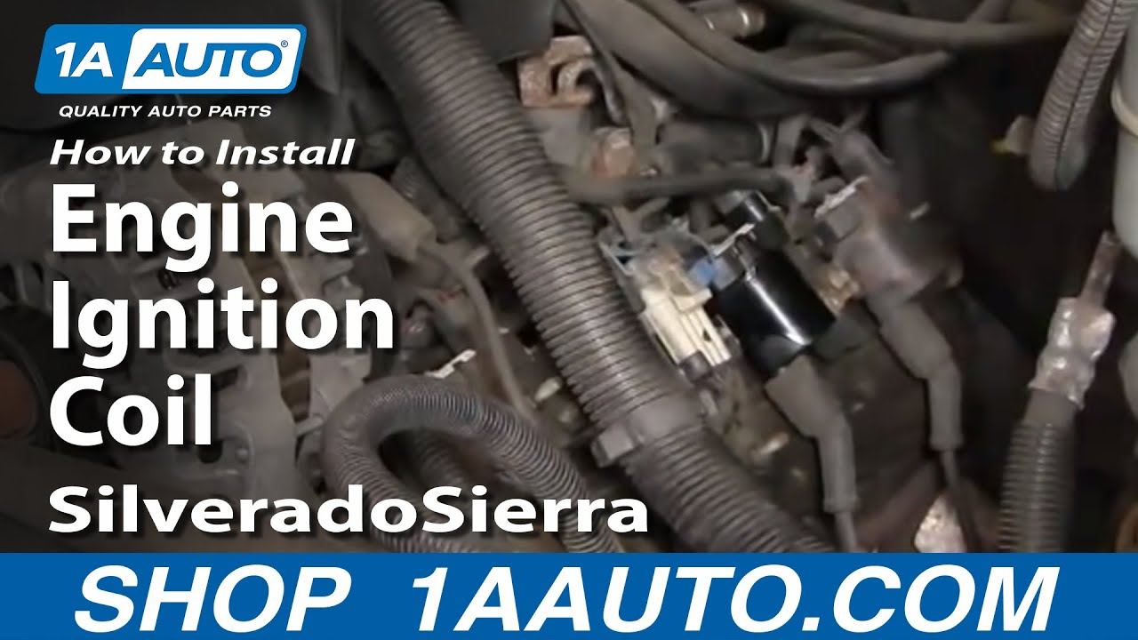 how to install replace engine ignition coil silverado sierra 6 0 5 3 4 8 vortec v8 1aauto com [ 1280 x 720 Pixel ]