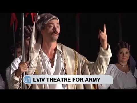Art Unifies Ukraine: Lviv theatre holds fundraising show to help Ukrainian army