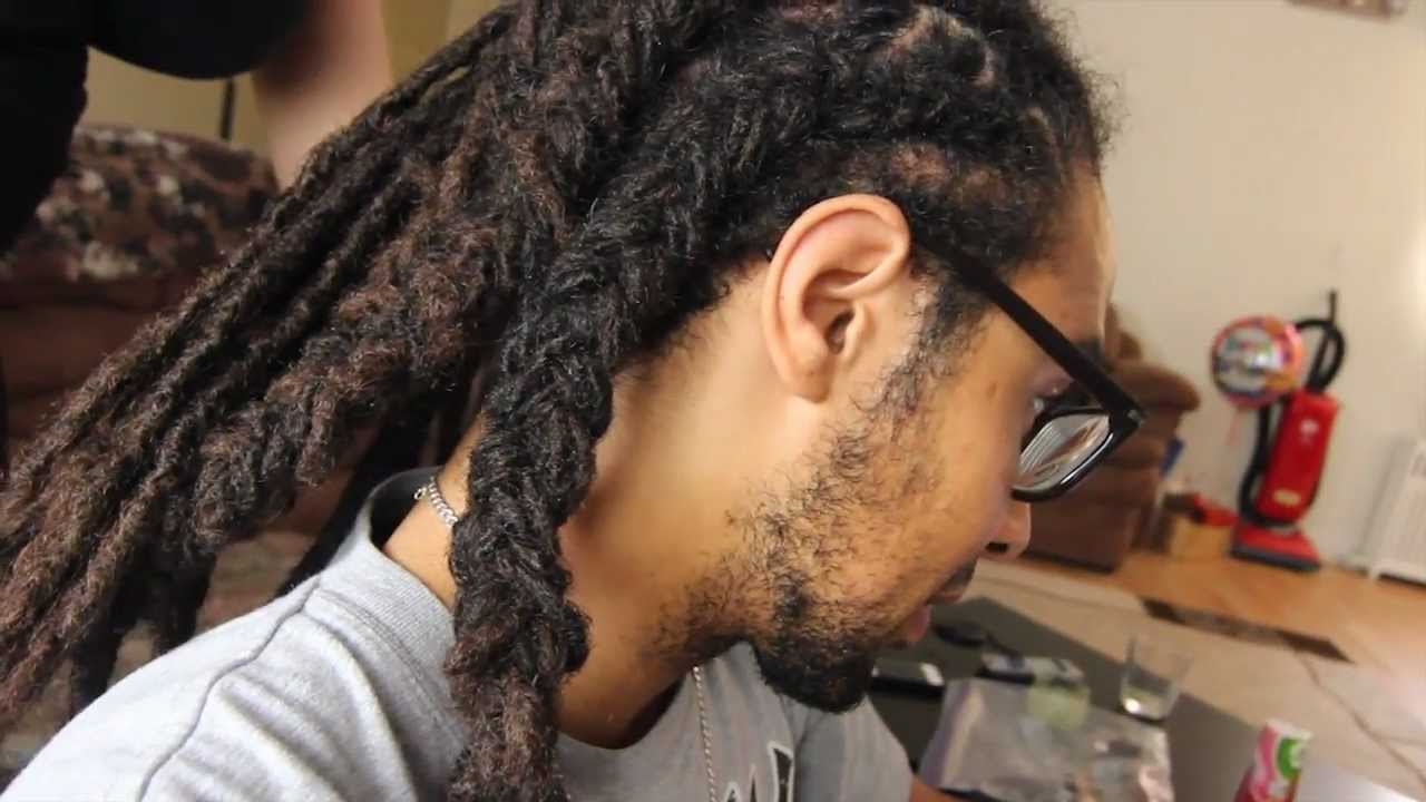 Braiding Dreadlocks Tips Tutorial Style Youtube