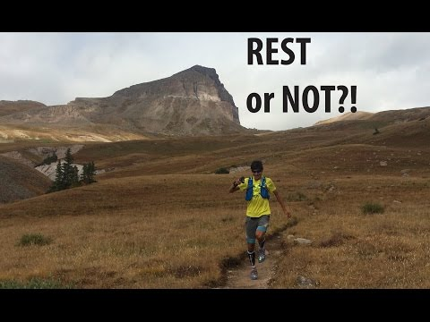 HOW TO TAPER BEFORE A RACE! | Sage Running Tips and Advice