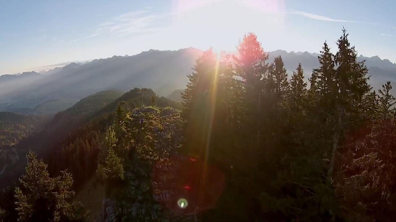 Klettersteig Besler : Besler bei obermaiselstein hörnerdörfer im allgäu youtube