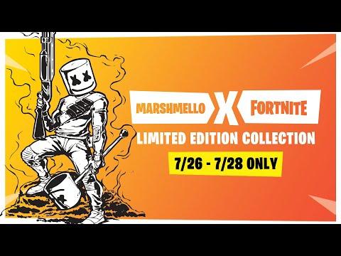 Fortnite Pro-Am World Cup - Marshmello x Ninja Stream Round 1