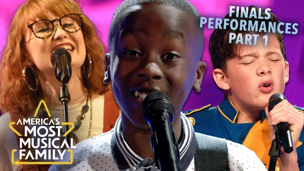 Every Performance From the Finals Pt. 1 | America's Most Musical Family Season 1
