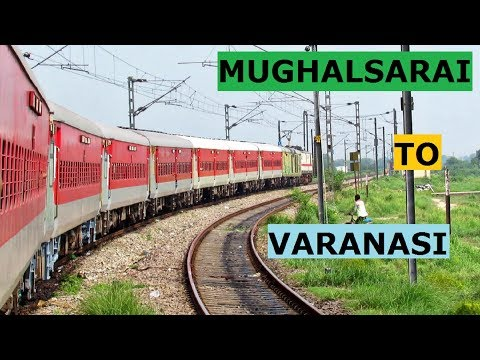 Journey from MUGHALSARAI to VARANASI || Onboard 22323 SHABD BHEDI SF EXPRESS !!