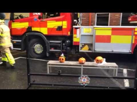 Dublin Fire Brigade safety demo
