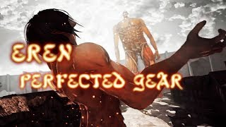 Attack On Titan Wings Of Freedom Eren Gameplay Max Level And Pefected Gear