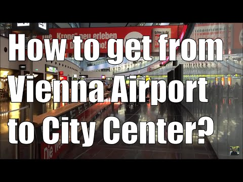 How to get from Vienna Airport (VIE) to Vienna city center (Wien Mitte/Landstrasse)