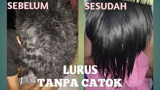 Download Video RAMBUT LURUS TANPA CATOK / Cara Meluruskan Rambut Permanen Hanya 5Menit Dgn Modal 5000 | GAYA RAMBUT MP3 3GP MP4