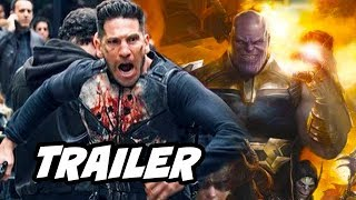 Punisher Season 2 Teaser Trailer - Avengers Endgame and Marvel Netflix Future Breakdown