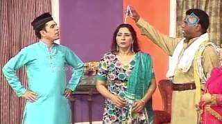 Amanat Chan and Abida Baig New Pakistani Stage Drama Full Comedy Clip