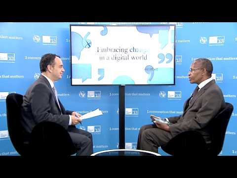 Thari G. Pheko, Chief Executive, Botswana - interview, ITU Telecom World 2013