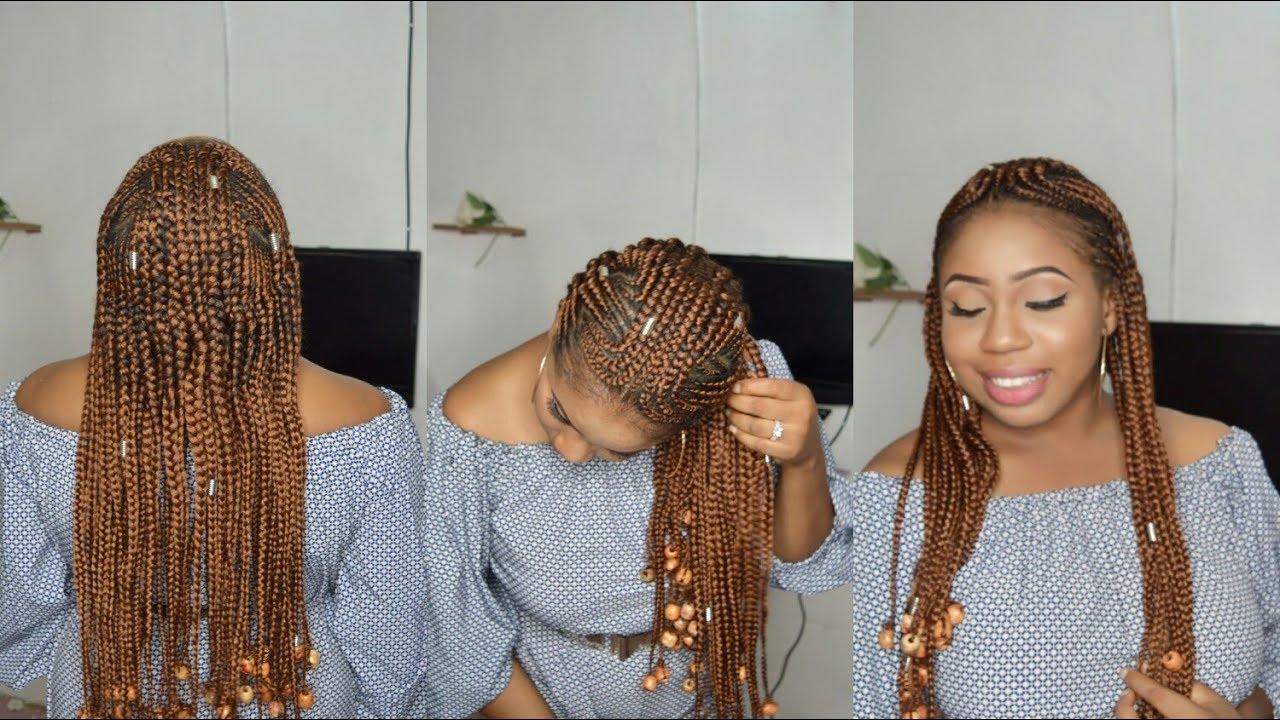 Alicia Keys Fulani Inspired Braids Tutorial Back To
