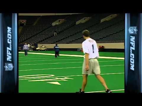 Tom Brady's 2000 NFL Combine