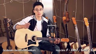 Last Christmas (cover by Minh Mon) - clip demo đàn