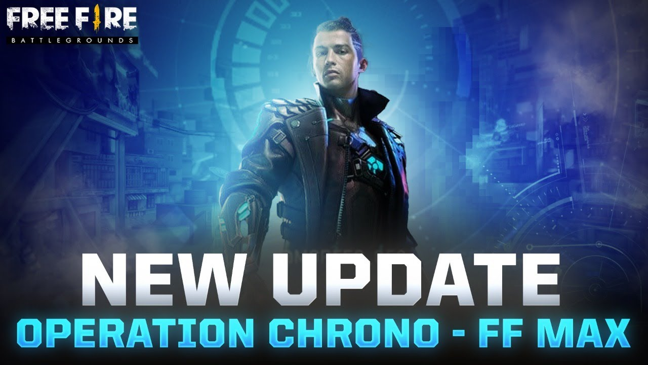 New Update Free Fire Operation Chrono One Punch Man New Character Garena Free Fire Youtube