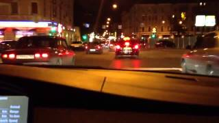 BMW M5 e60 gold night drive V10 sound