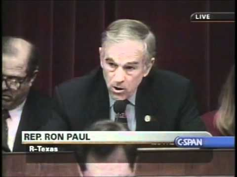 "Ron Paul: ""Enron had $1.6 billion worth of corporate welfare"""