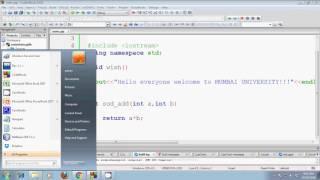 كيفية إنشاء مكتبة ثابتة في c++