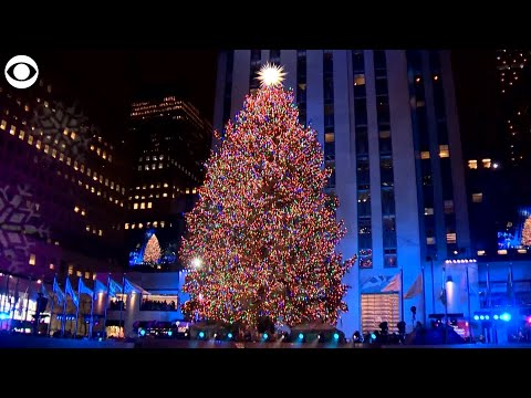 WEB EXTRA: Rockefeller Center Tree Lighting In NYC