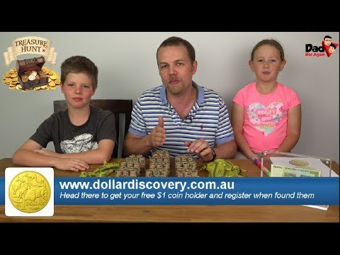 2019 Australia $1 coin - Treasure Hunt - Episode 1 of 5