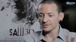 Interview with Chester Bennington from ARTISTdirect (Русские субтитры)