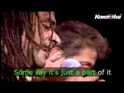 Redemption Song - Yannick Noah lyric ( KARAOKE )