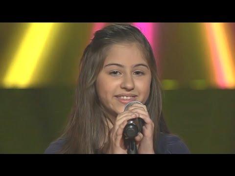 فيديو اغنية منى حجير الدنيا حلوة HD ذا فويس كيدز