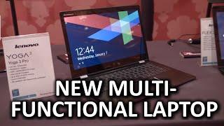 Brand New Convertible Laptop Lenovo Yoga Pro 3 - CES 2015