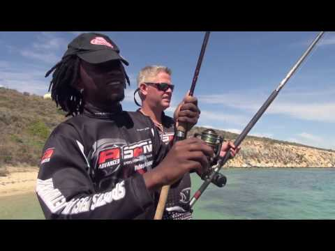 ASFN Rock & Surf - Around Langebaan Western Cape, taking Bonging fishing