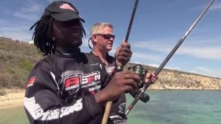 ASFN Rock & Surf - Around Langebaan Western Cape, taking Bonging fishing