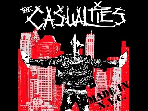 The Casualties - Made In N.Y.C  (Disco Completo)