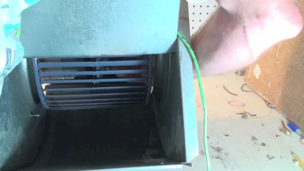hight resolution of blower and heat exchanger cleaning