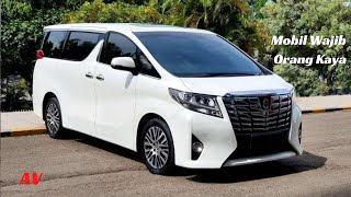 Toyota All New Alphard 2015 Review Indonesia