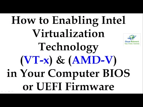 [Full Download] Enable Virtualization Technology Vt On