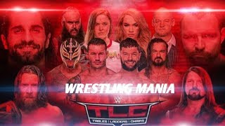 WWE TLC Pay Per View All Matches Betting Odds 2018! WWE TLC Match Card Preview 2018