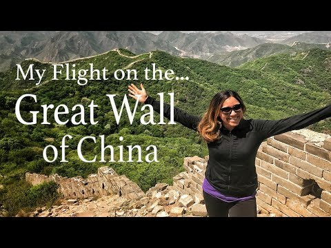 Flying on The Great Wall of China | Elena Buenrostro