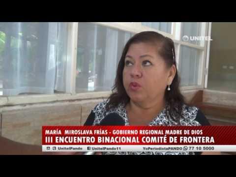 III REUNION BINACIONAL COMITE DE FRONTERA AMAZONICO PERU BOLIVIA