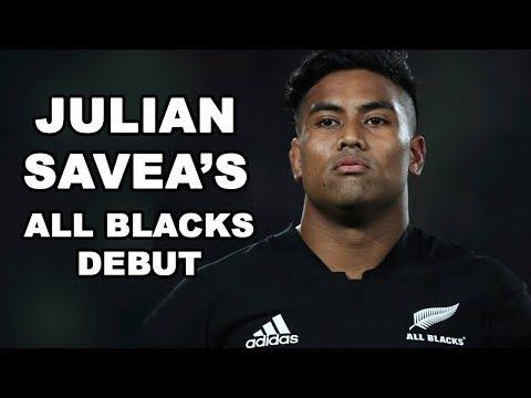 Julian Savea's All Blacks Debut
