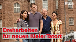 """Dreharbeiten für Kieler Tatort: """"Borowski und der Fluch der weißen Möwe"""""""