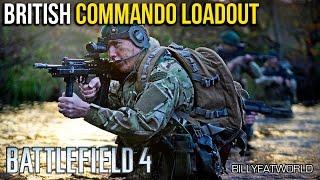 Battlefield 4 (PS4) - British Royal Marines Commando Loadout - L86A2 + P226