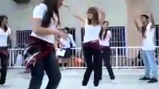 رقص بنات الجامعه على اغنية قلب قلب - youtube