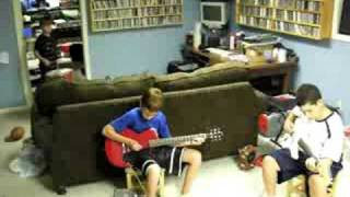 Thomas Angus and Nicolas Play AC/DC