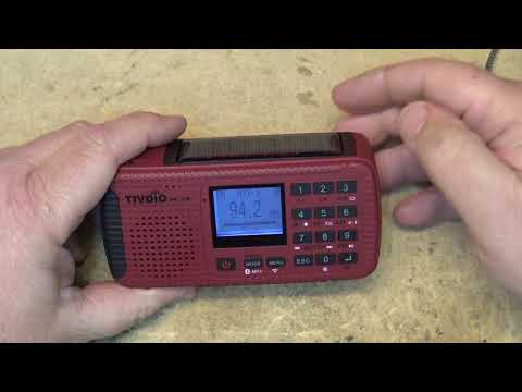 Tivdio HR 11W Camping / Emergency radio  first look