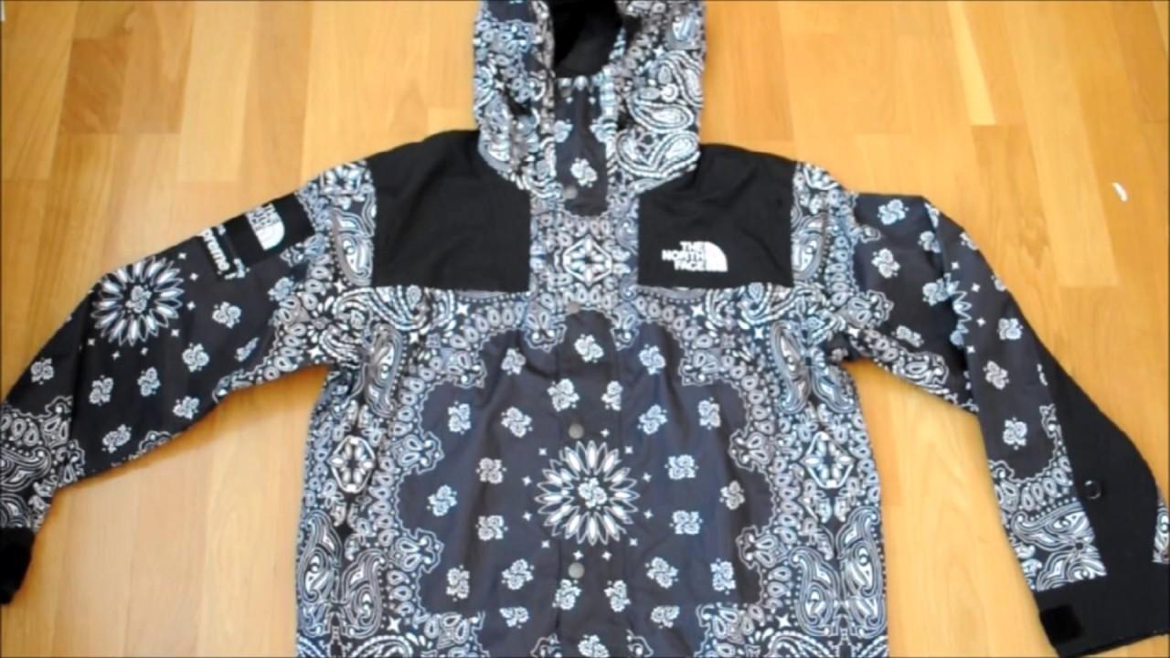 eefd7a31f Supreme x The North Face Bandana Jacket!!