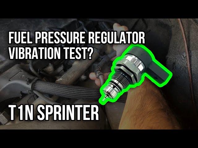 T1N Sprinter Possible Fuel Pressure Regulator Test?