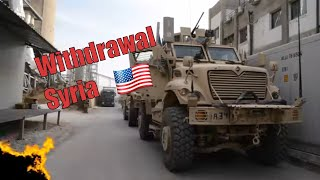 A Look at U.S. FORCES Leaving North East SYRIA (2019)