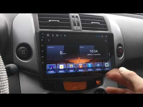 Toyota RAV4 XA30 Android автомагнитола