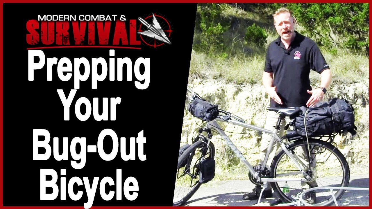 Bugging Out With A Bike For SHTF Urban Survival Preppers