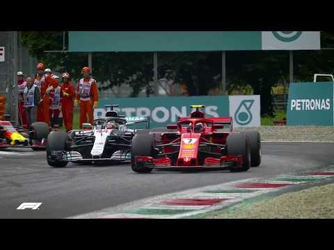 Hamilton and Raikkonen's Monza Battle | 2018 Italian Grand Prix